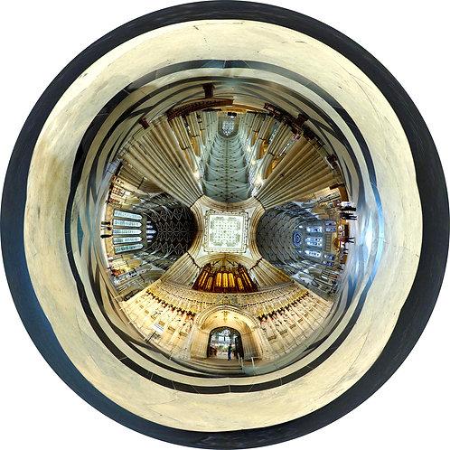 York Minster Transept Crossing - up