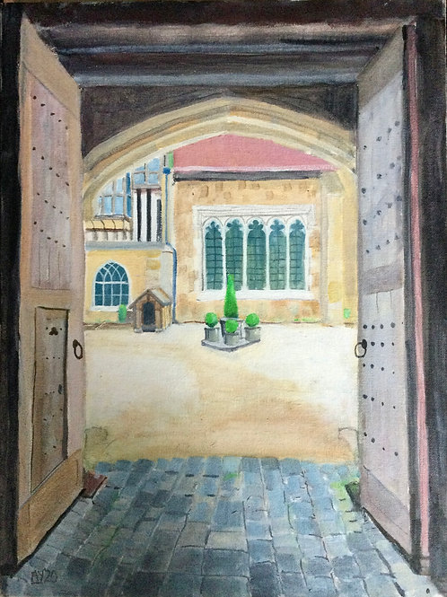 Ightham Mote Gateway by Anthony Young
