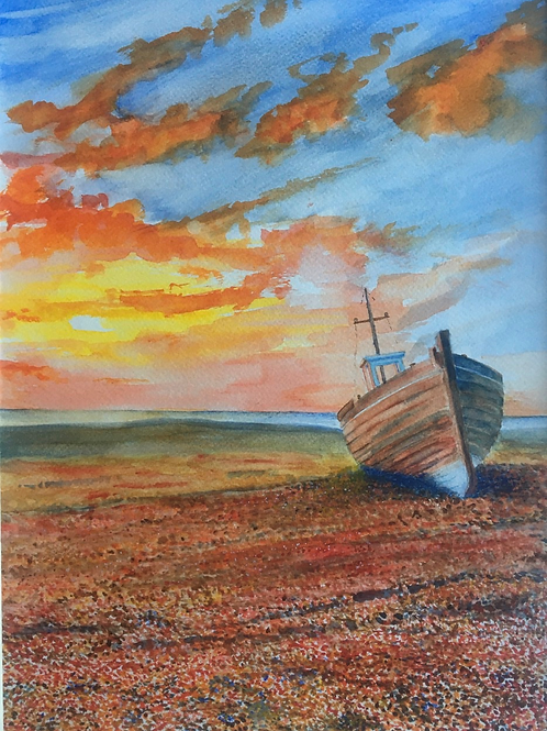 Evening, Dungeness by Rob Marchant