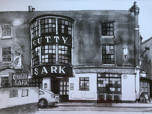 The Cutty Sark Pub by Rob Marchant