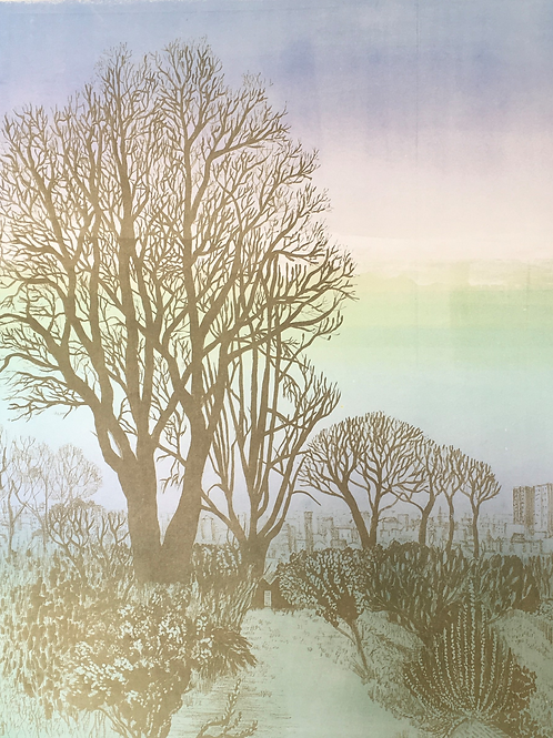 End of Garden; Day by Mary Bennett