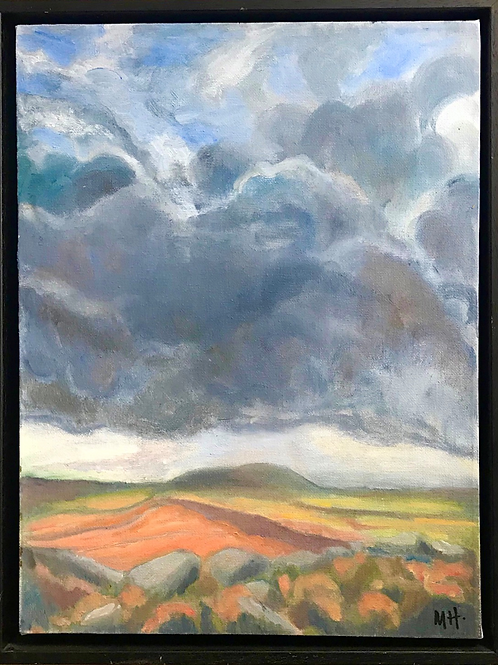 Storm over Derbyshire by Maggie Holland