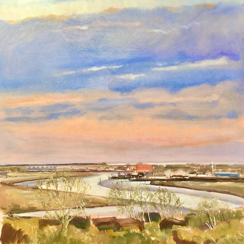 River Rother at Rye by Tim Keeler