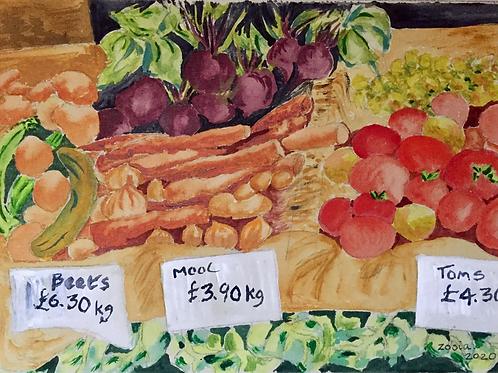 Blackheath Farmers Market by Zosia Mellor