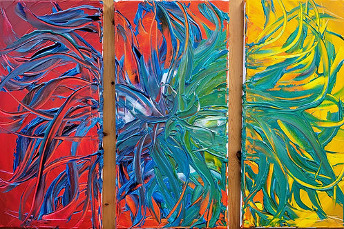 Tertiary Amaryllis by Ian Gartrell
