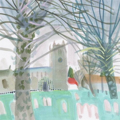 Suffolk Church by Mary Woodin