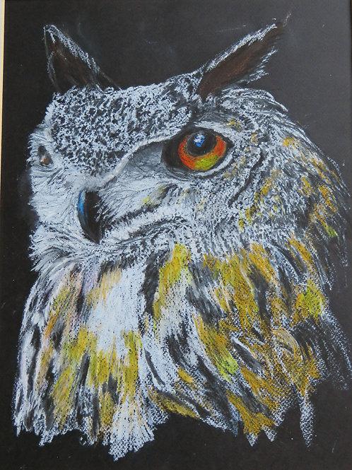 Eagle Owl by Lee Nightingale