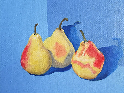 If de Chirico Painted Pears.. by Dai Anderson