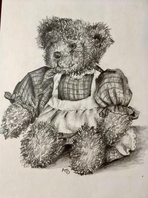 Teddy Bear by Zosia Mellor