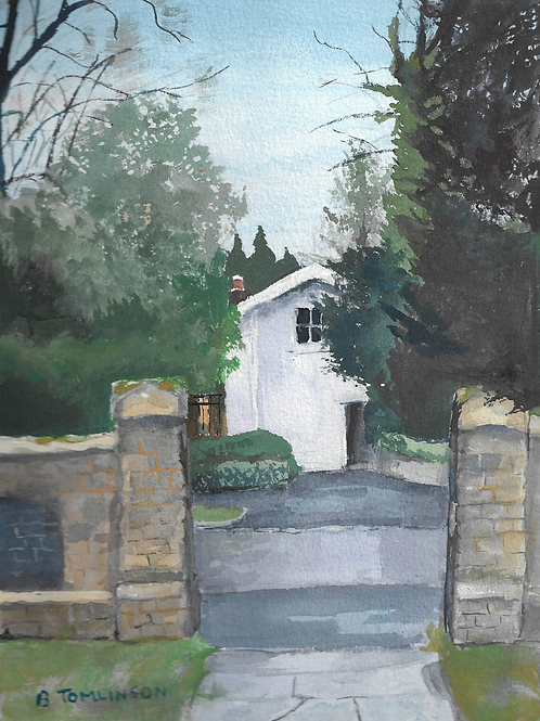 The House Opposite the Church by Barbara Tomlinson