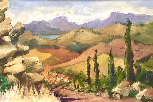 Landscape III by Liese Cattle