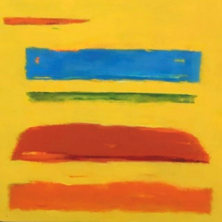 Uluru Abstract by Frances Skittrall
