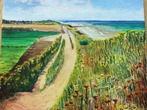 Norfolk Coast Walk by Chris Ashworth