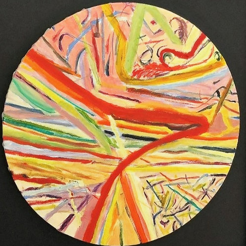 Colour Circle-Abstract by Chris Ashworth