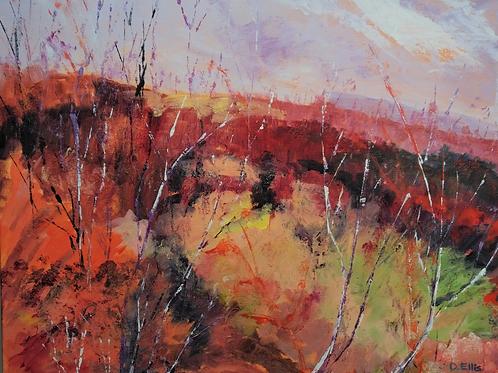 Autumn Reds by Deirdre Ellis