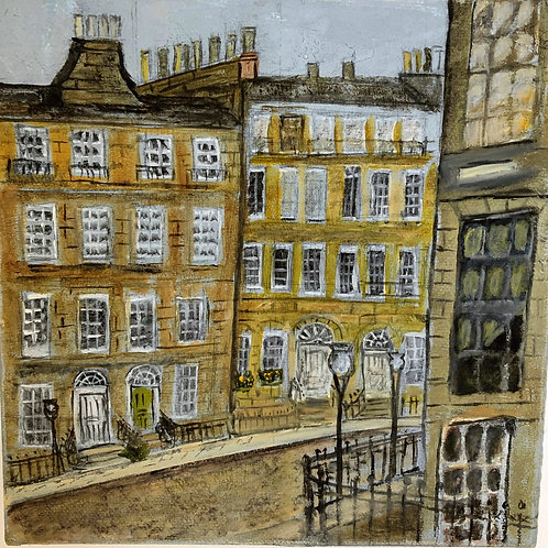 Edinburgh New Town Crescent by Marjorie Ouvry