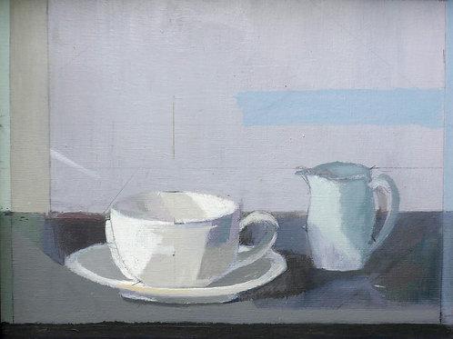 Teacup, Saucer and Jug by Jack Irish