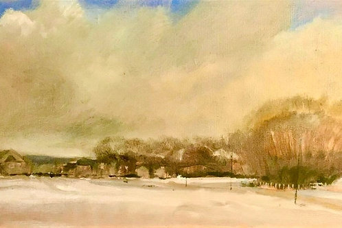 Blackheath in the Snow by Tim Keeler