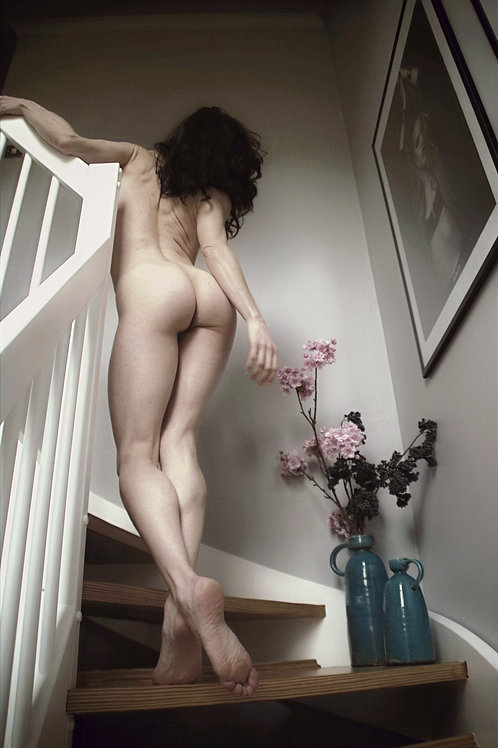 On the Stairs by John Watts