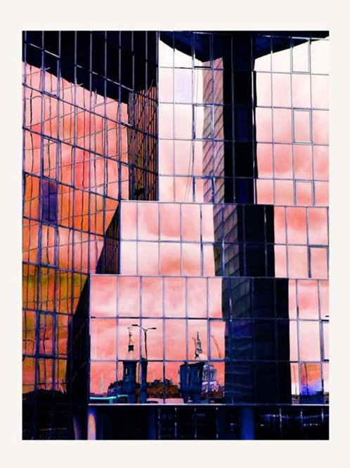 London Bridge Reflections by Lucy Cooper