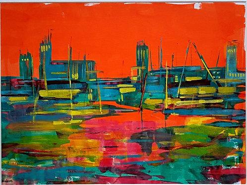 Dockside 1 by Bet Mishra