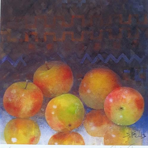 Golden Apples by Shirley Felts