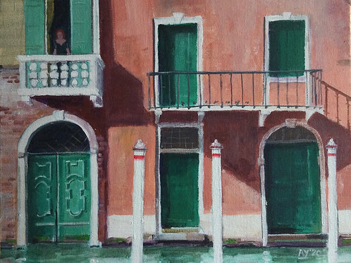 Venice, Doorways by Anthony Young