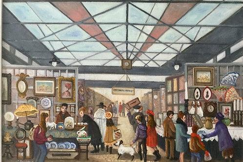 Greenwich Market by Carol Barry