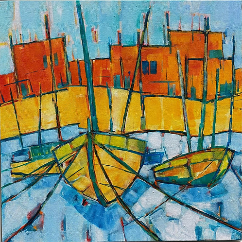 Cornwall, Harbour by Bet Mishra