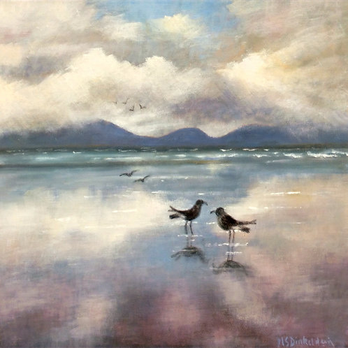 I Think It's Brightening Up by Margaret Dinkeldein