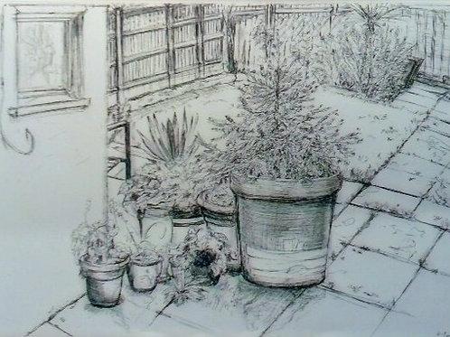 Winter Pots by Nadia Kazakova