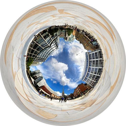 Christchurch, Spitalfields, London - up