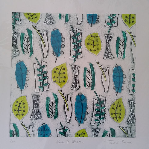 Blue in Green by Julie Ann Brown