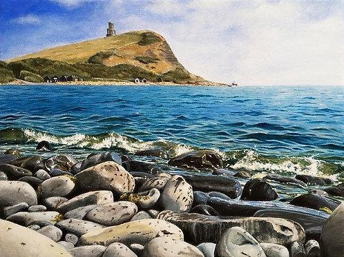 Incoming Tide, Kimmeridge II by Christine Rogers