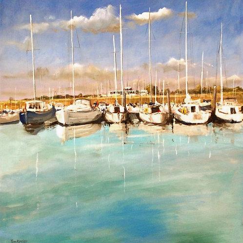 Bradwell Marina, Essex by Tim Keeler