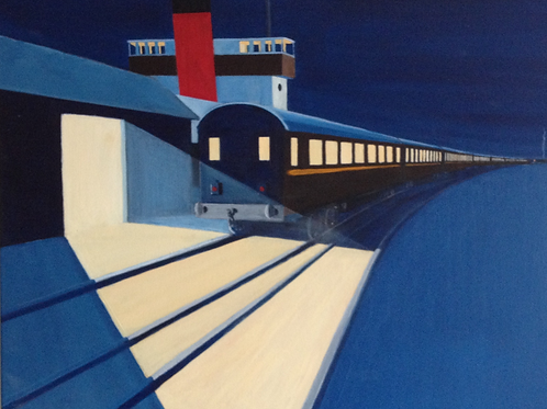 Orient Express by Rob Marchant