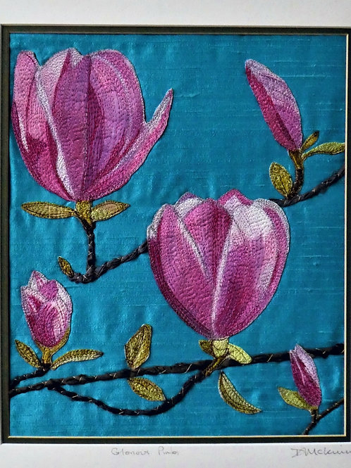 Glorious Pinks by Diana McKinnon