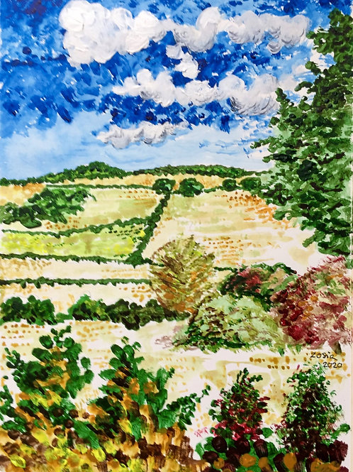 Darenth Valley by Zosia Mellor