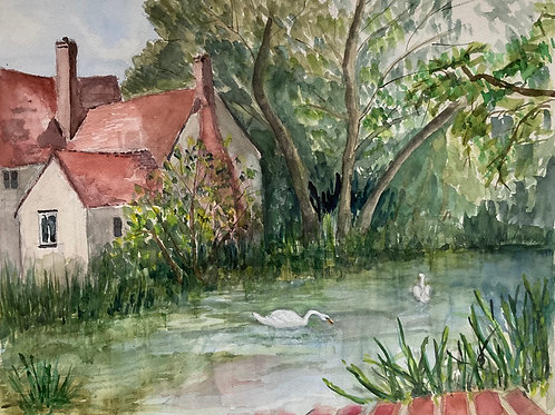 Willy Lotts Cottage by Edythe Peters