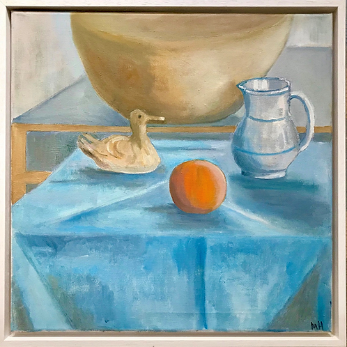Blue Still Life by Maggie Holland