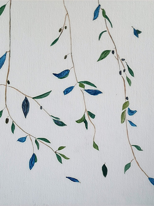 Olive Branches in a Brezze by Dai Anderson