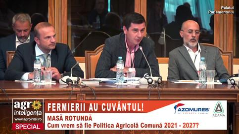 """Emil Dumitru, Federația Națională PRO AGRO, la dezbaterea """"Fermierii au cuvântul"""""""