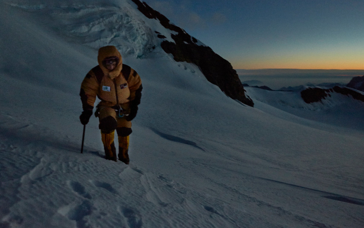 High altitude mountaineering, Mike Fuchs, Expedition