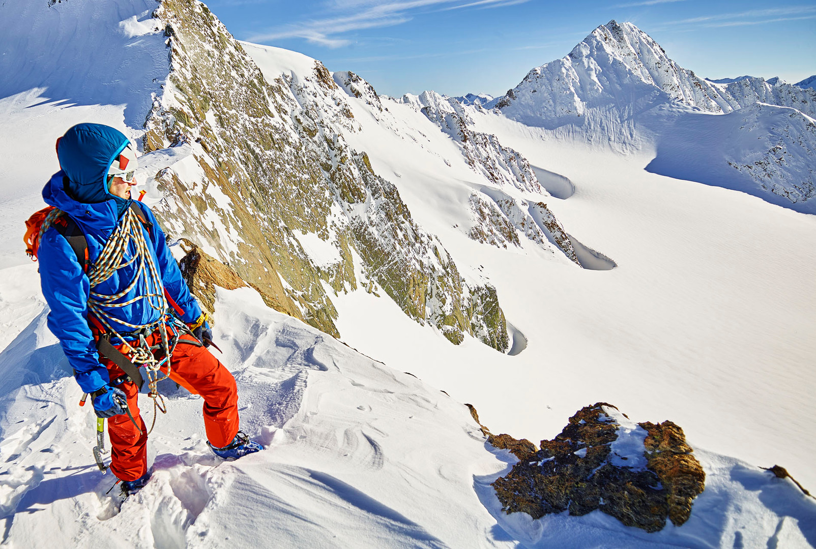 alps mountaineering, Mike Fuchs