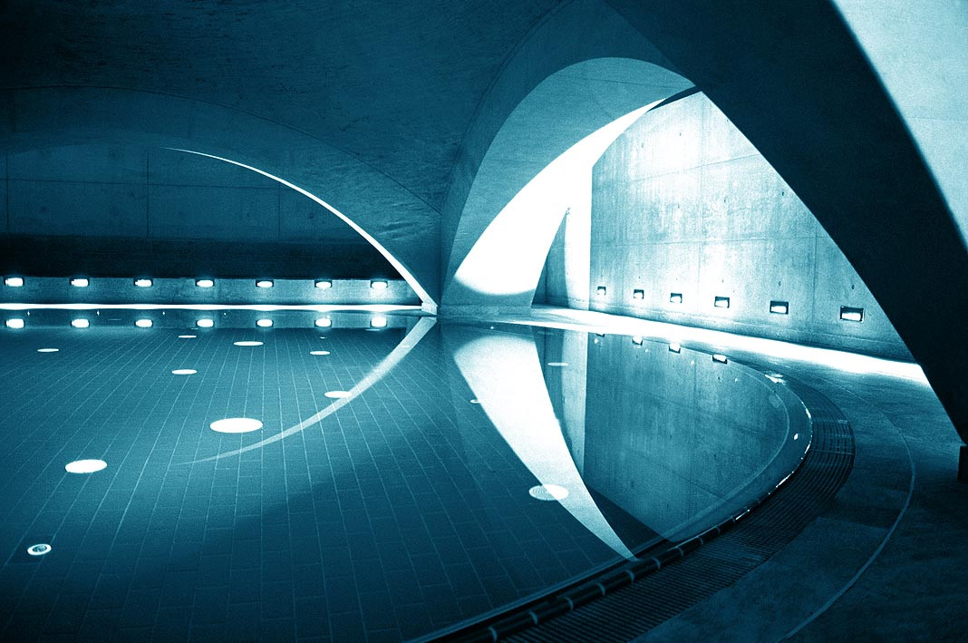 Liquidrom Swimming in Berlin, Mike Fuchs