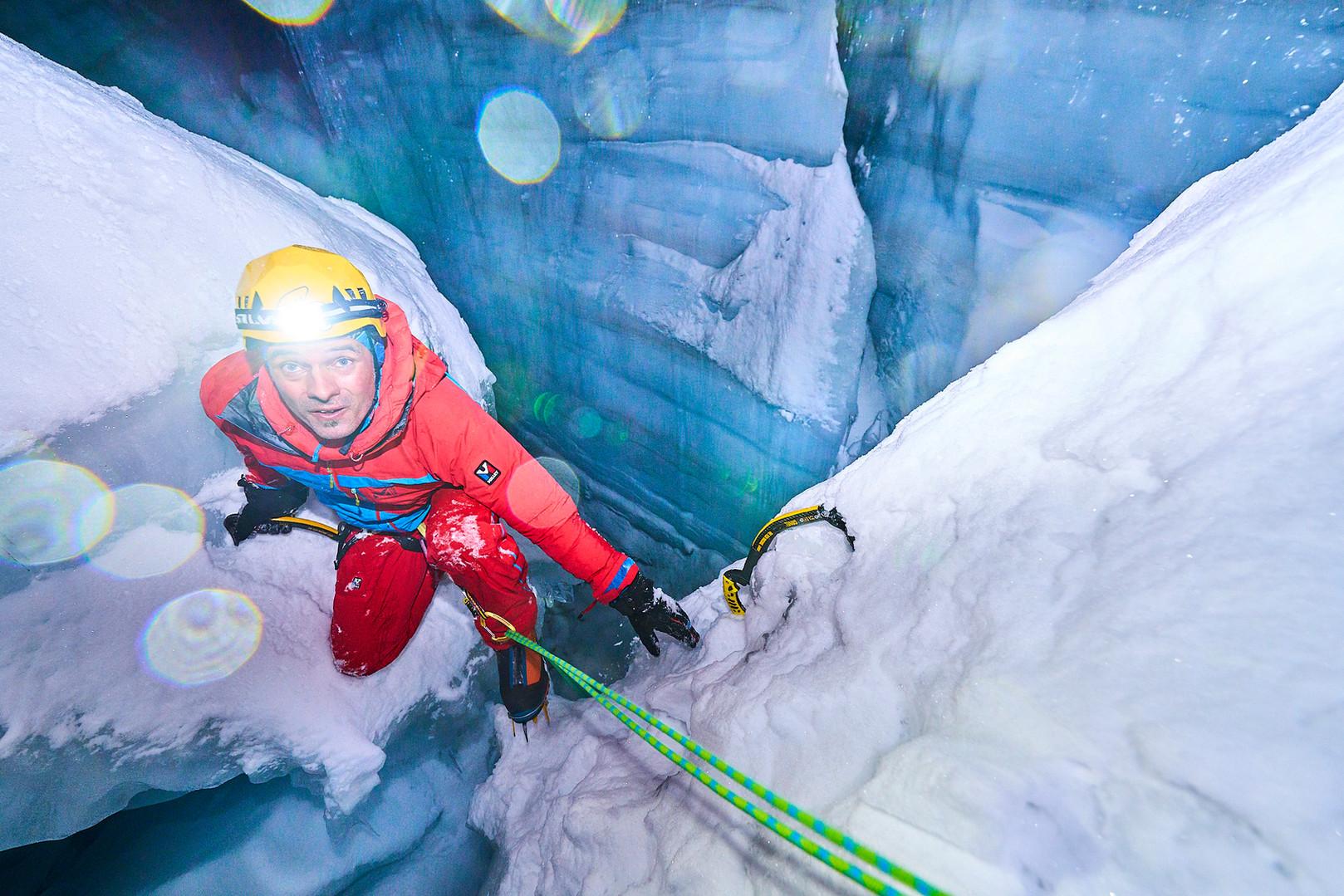 alps mountaineering, iceclimbing, Mike Fuchs
