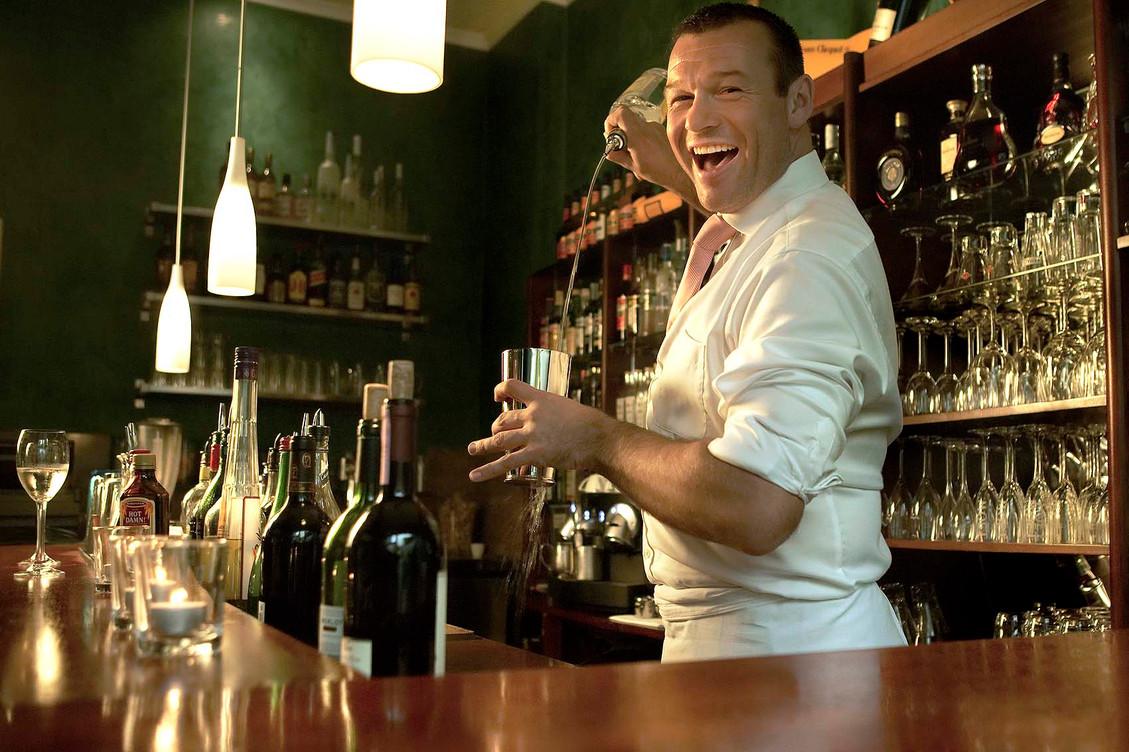 Barkeeper in Berlin, Mike Fuchs
