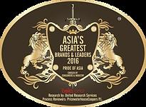 Asia's Greatest Brands & Leader 2016 Pri