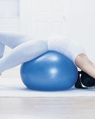 Pilates avec balle
