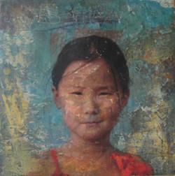 Girl of Mongolia
